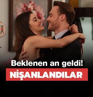 Hande Erçel ve Kerem Bürsin hayranları nihayet muradına erdi!
