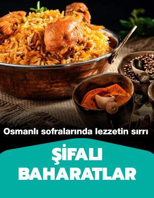 Osmanlı mutfağında pilavlarda kullanılan baharatlar