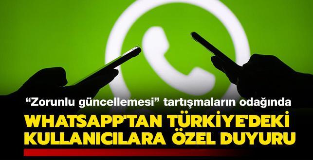 Son Dakika: WhatsApp'tan Türkiye'deki kullanıcıları için çok önemli açıklama