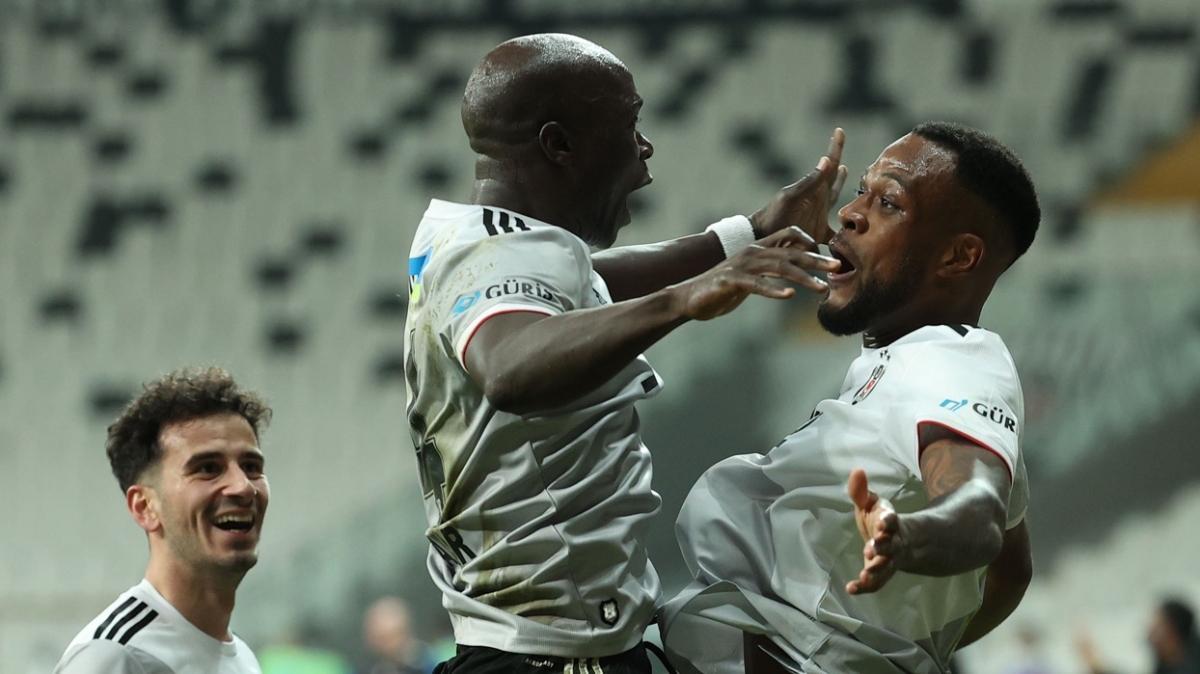 Beşiktaş'ın yılmayan savaşçısı Larin takımın en iyisi oldu