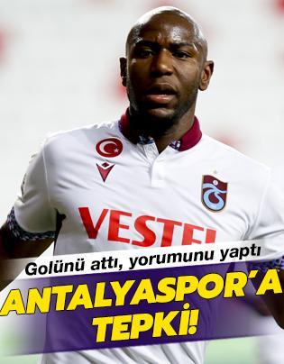 Afobe'den Antalyaspor'a tepki
