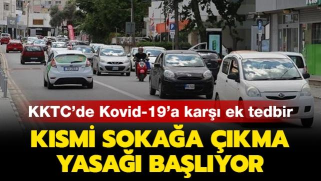 KKTC'de Kovid-19'a karşı ek tedbirler getirildi: Kısmi sokağa çıkma yasağı başlıyor