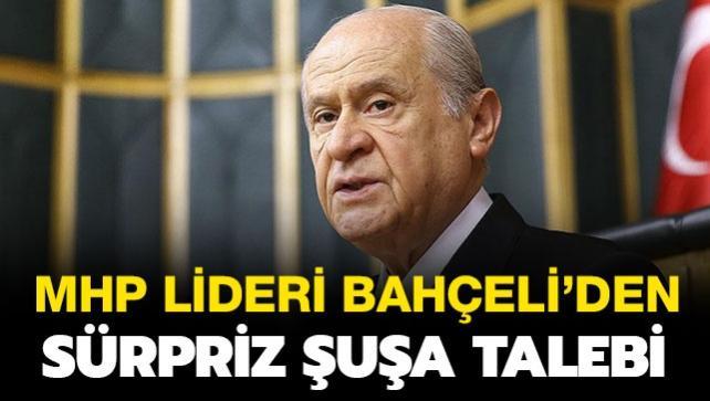 MHP lideri Bahçeli'den sürpriz Şuşa talebi