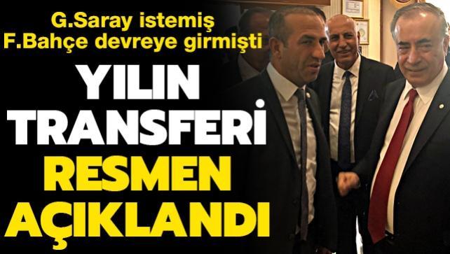 Ve Süper Lig'de yılın transferi resmen açıklandı