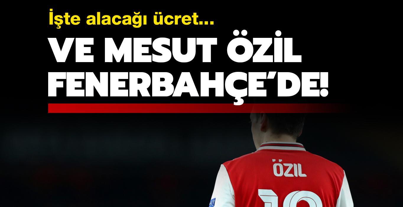 Mesut Özil, F.Bahçe'de! İşte alacağı ücret...