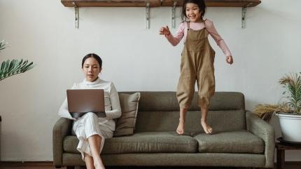 Evden çalışma çocuğu olanlarda tükenmişlik sendromuna neden oldu
