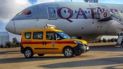 Katar uçağı, Şanlıurfa'ya zorunlu iniş yaptı