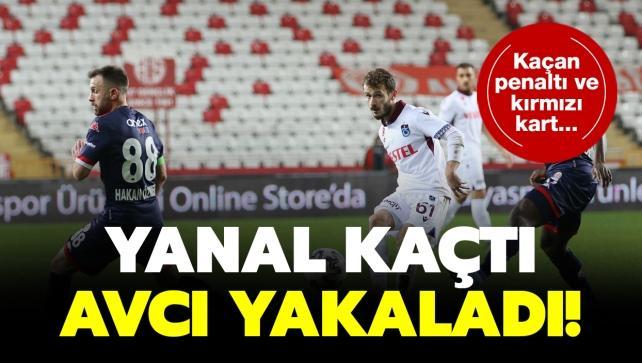 Trabzonspor, 1 puanı 90+6'da kurtardı