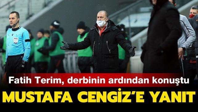 Fatih Terim'den Mustafa Cengiz'e yanıt