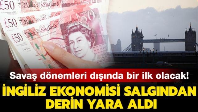 Savaş dönemleri dışında bir ilk olacak! İngiliz ekonomisi 394 milyar sterlin seviyesinde borçlanacak
