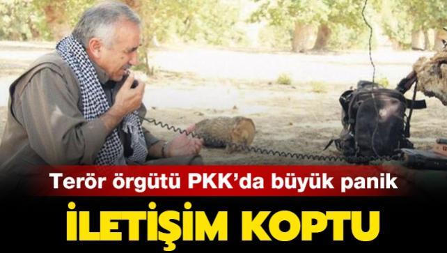 İletişim koptu... Terör örgütü PKK'da büyük panik!