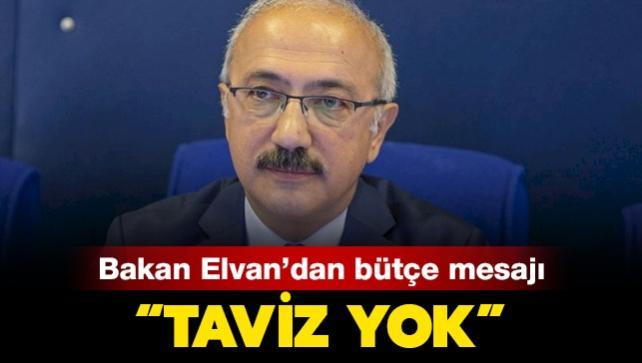 Bakan Elvan 2020 bütçe açığını açıkladı