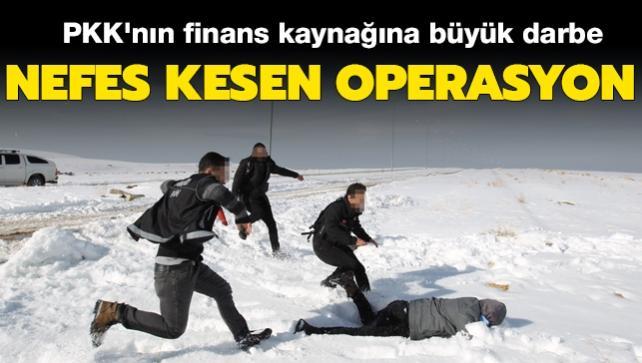 Son dakika haberi: Terör örgütü PKK'ya sınırda nefes kesen operasyon! Finans kaynağına büyük darbe vuruldu