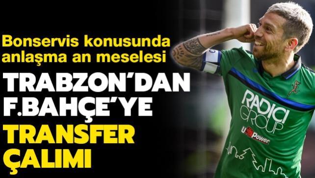 Trabzonspor'dan F.Bahçe'ye yıllarca unutulmayacak transfer çalımı