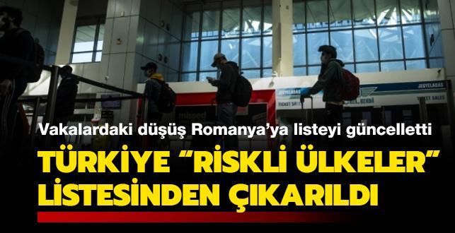 Vakalardaki düşüş Romanya'ya listeyi güncelletti: Türkiye 'riskli ülkeler' listesinden çıkarıldı