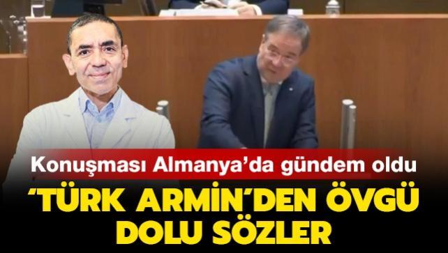 Almanya'da Armin'in Prof. Dr. Uğur Şahin'i öven sözleri gündem oldu!