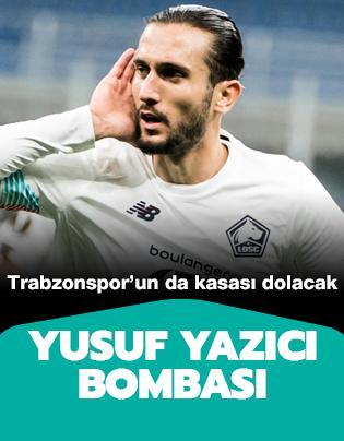 Yusuf Yazıcı bombası! Trabzonspor'un da kasası dolacak
