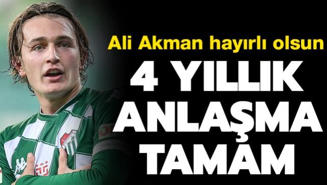 4 yıllık anlaşma tamam! Ali Akman hayırlı olsun