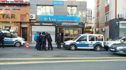 İstanbul'da kuyumcu soygunu! Silahla vurdu...