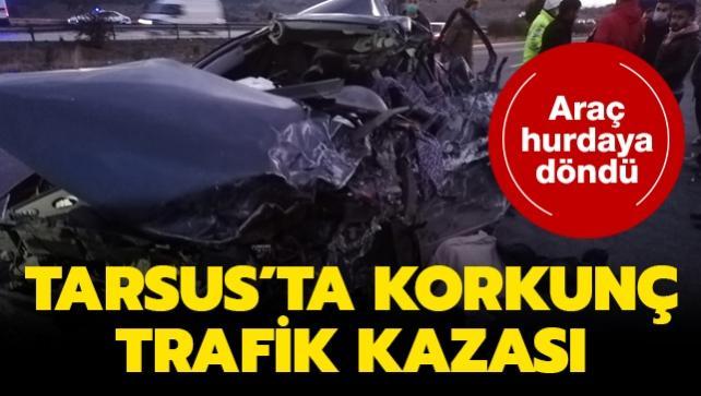 Tarsus'ta trafik kazası: 5 kişi hayatını kaybetti