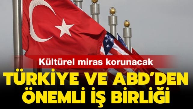 Türkiye ve ABD'den iş birliği anlaşması