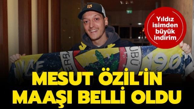 Mesut Özil'in F.Bahçe için yaptığı indirim ortaya çıktı