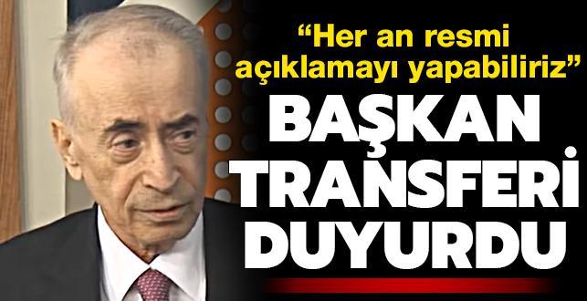 Ve Mustafa Cengiz transferi duyurdu: Her an resmi açıklamayı yapabiliriz