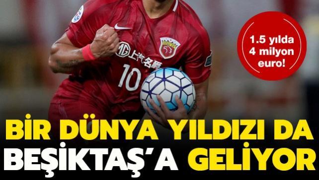 Bir dünya yıldızı da Beşiktaş'a geliyor