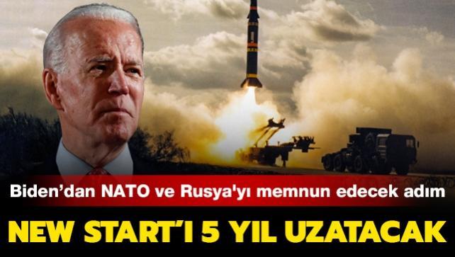 Biden'dan NATO ve Rusya'yı memnun edecek adım: New START'ı 5 yıl uzatacak