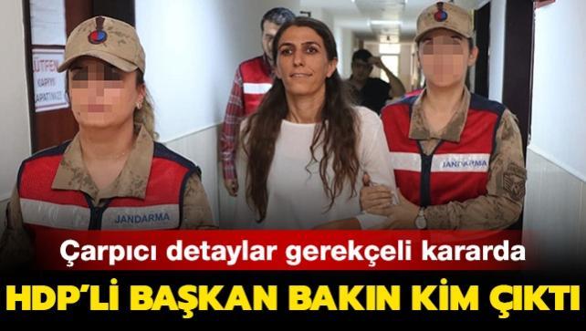 HDP'li Rojda Nazlier'in, terör örgütü PKK'nın 'en çok güvendiği milislerinden biri' olduğu ortaya çıktı