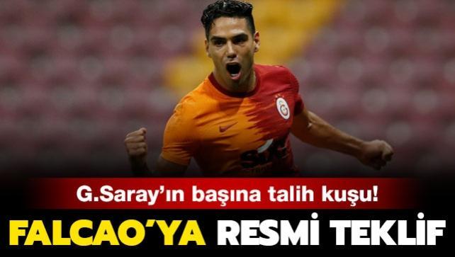 Galatasaray'ın başına talih kuşu kondu! Falcao'ya talip...