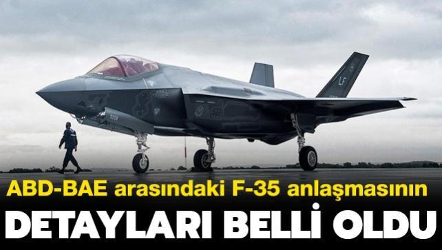 ABD ve BAE arasındaki F-35 anlaşmasının detayları belli oldu... Bedeli 23 milyar dolar