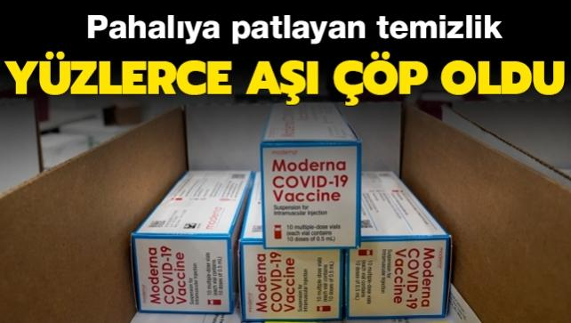 ABD'de pahalıya patlayan temizlik: Yüzlerce koronavirüs aşısı çöp oldu!