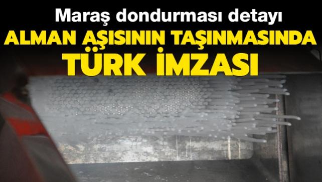 Türk bilim insanlarının geliştirdiği koronavirüs aşısının taşınmasında Türk imzası