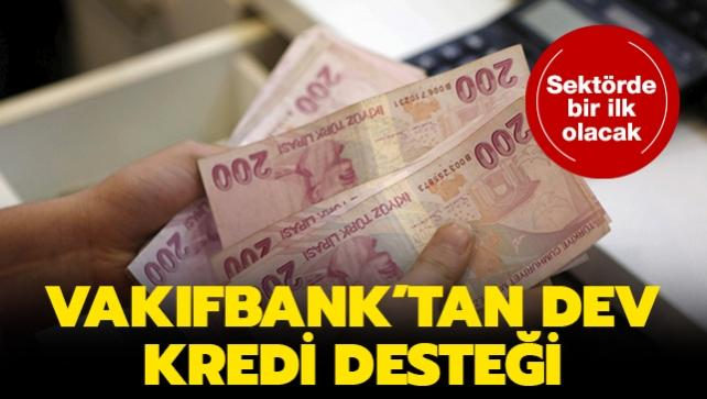 VakıfBank'tan yeni kredi paketi müjdesi
