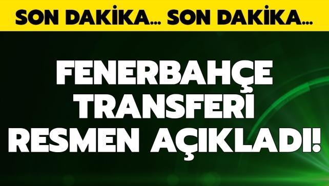 F.Bahçe transferi resmen açıkladı!