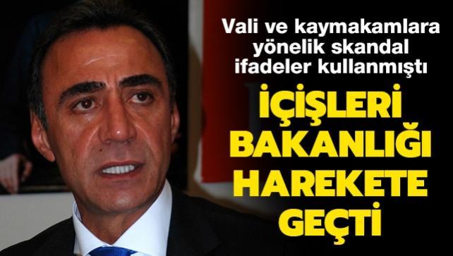 İçişleri Bakanlığından CHP eski milletvekili Berhan Şimşek hakkında suç duyurusu