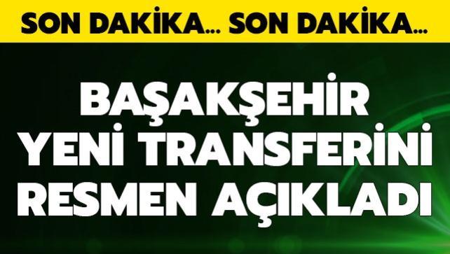 Başakşehir yeni transferini resmen açıkladı