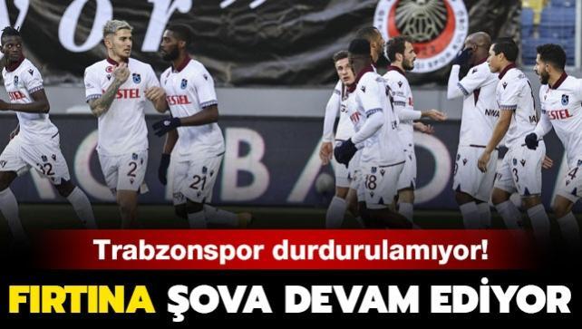 Trabzonspor Ankara'dan 3 puanla dönüyor