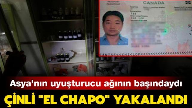 Asya'nın uyuşturucu ağının başındaydı: Çinli 'El Chapo' yakalandı