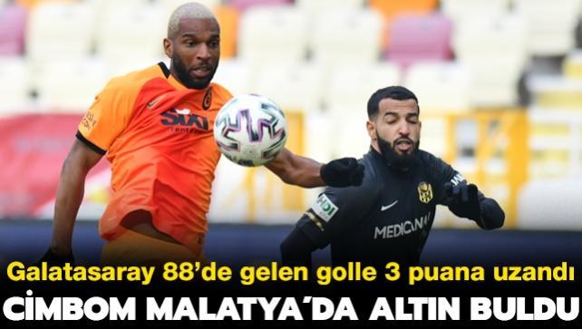 Galatasaray Malatya'da altın buldu: 0-1