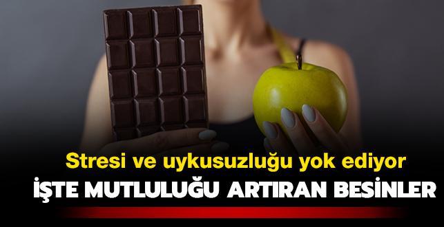 Hafızaya elma, uykusuzluğa çikolata
