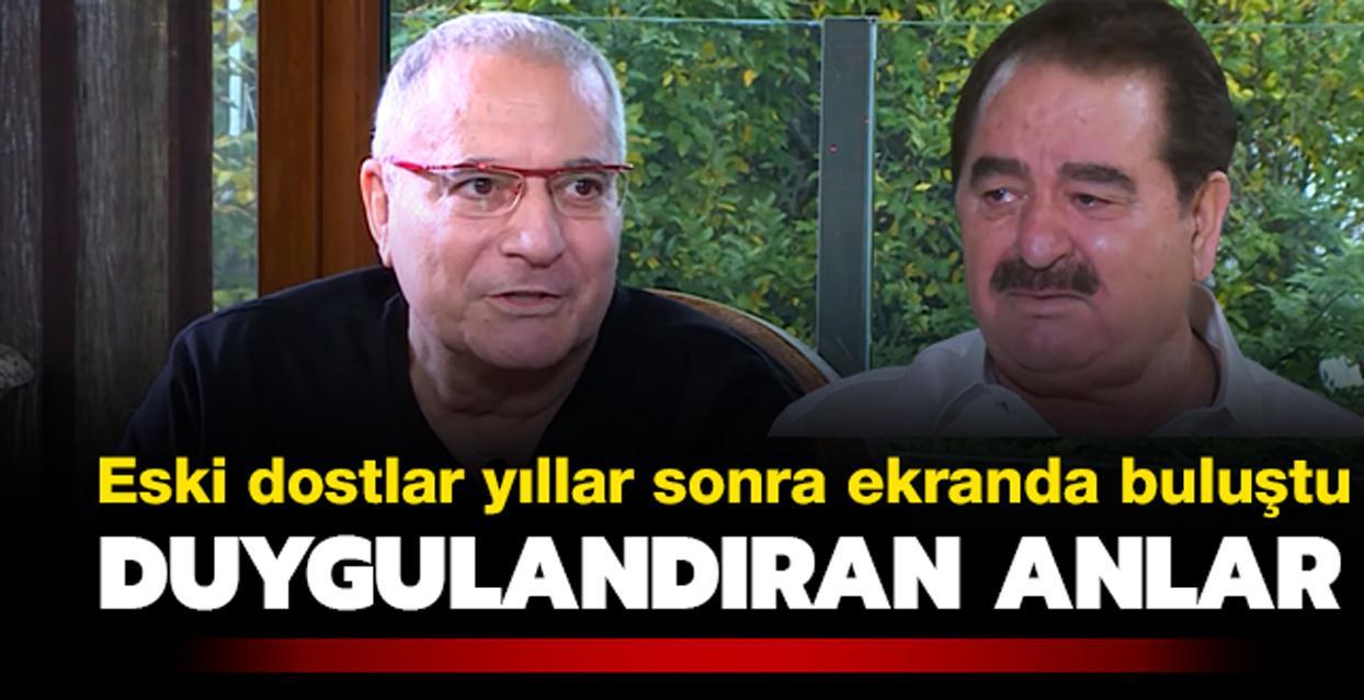 İbrahim Tatlıses ve Mehmet Ali Erbil buluştu… İbo Show'da gözyaşları sel oldu…