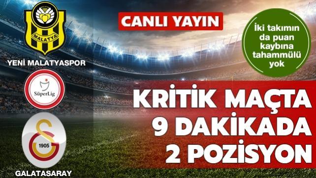 Kritik maçta 9 dakikada 2 pozisyon | CANLI