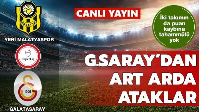 Galatasaray'dan art arda net pozisyonlar | CANLI