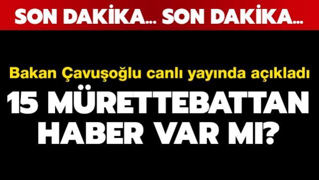 Dışişleri Bakanı Çavuşoğlu: Şu ana kadar korsanlardan henüz bir haber gelmedi
