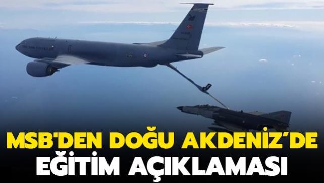 F-16'lar havalandı: Doğu Akdeniz'de eğitim
