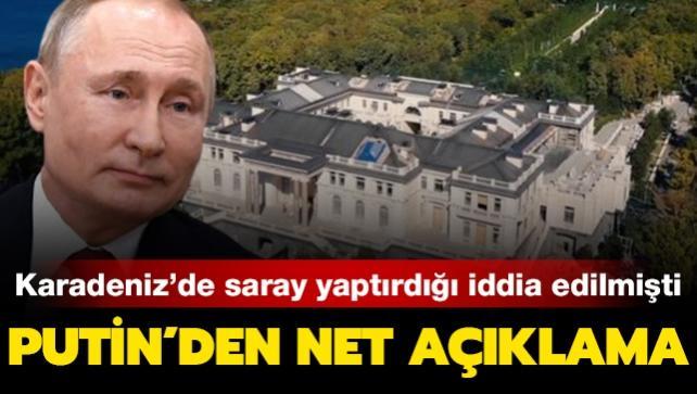 Putin, Karadeniz'de 1.4 milyara saray yaptırdığı iddialarına yanıt verdi
