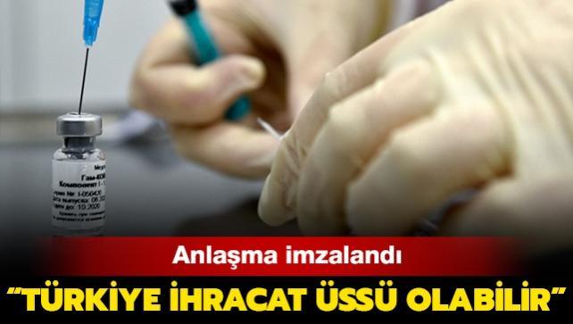 Rus aşısı Sputnik V'nin Türkiye'de üretimi için anlaşma imzalandı: 'Türkiye ihracat üssü olabilir'