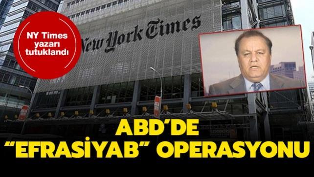 New York Times yazarı İran ajanlığıyla suçlandı
